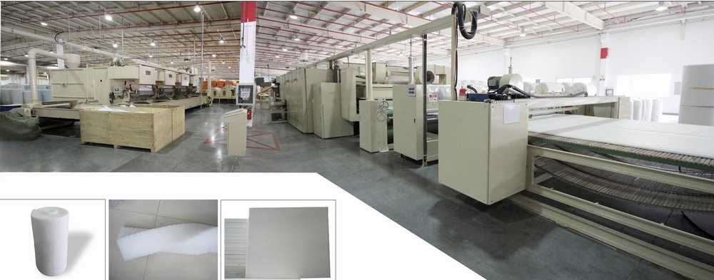 YYL-HY-I Thermal bonding wadding production line